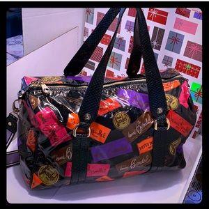 VTG RARE Henri Bendel New York Large Duffle Bag